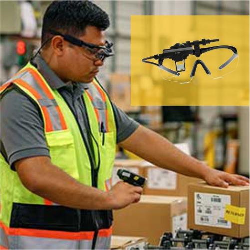 óculos Head-Mounted Display Proxion
