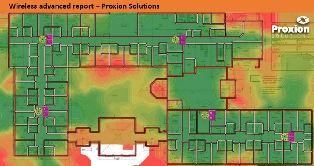 Mapa de Calor Site Survey